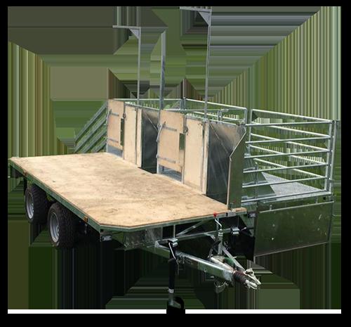 sheering trailer